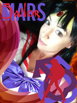 Sailor Mars costume feature