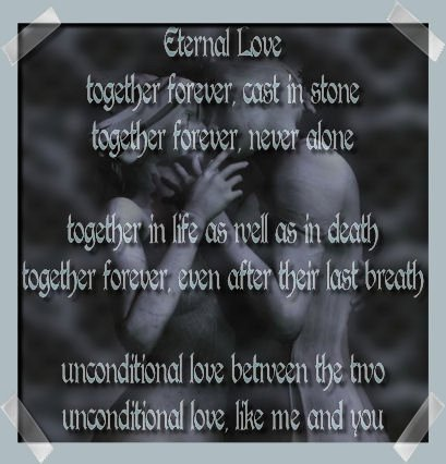 Eternal Love Poem By Outsida92 On Deviantart