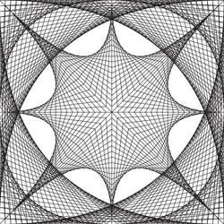 geometric pattern no1 by 3otiko