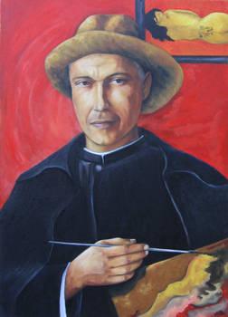 Portrait of Patrick in Gauguin