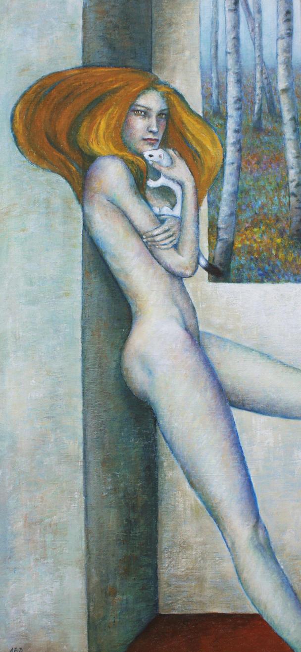 ANIMA, La protection, Anne Bail-Decaen by ABDportraits