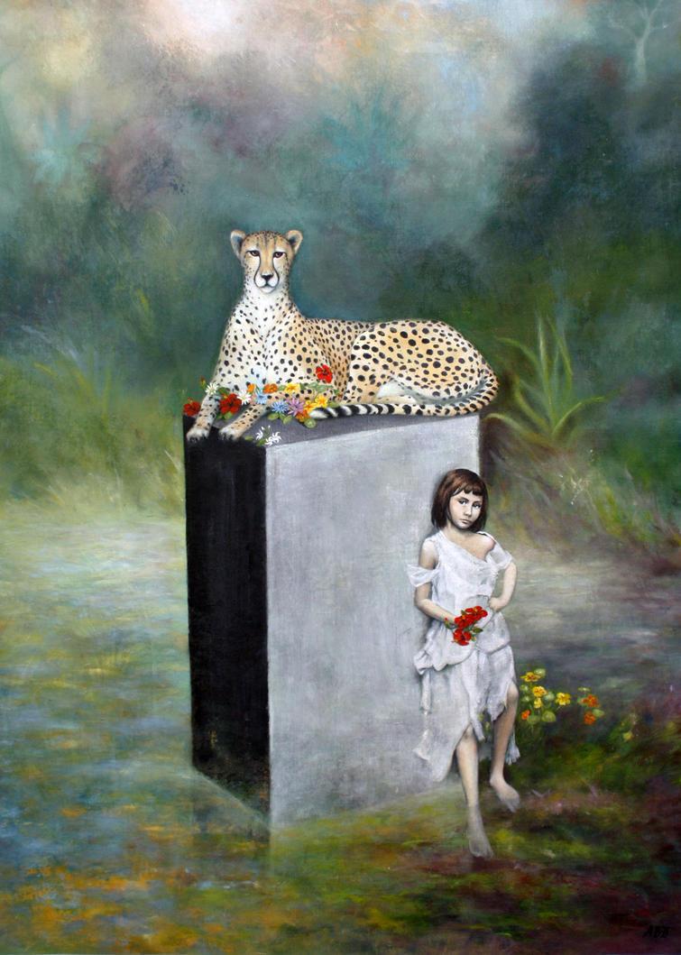 ANIMA, Le Couronnement, Anne Bail-Decaen by ABDportraits