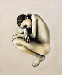 D'OR, Jeune Fille, 2019 Anne BAIL-DECAEN