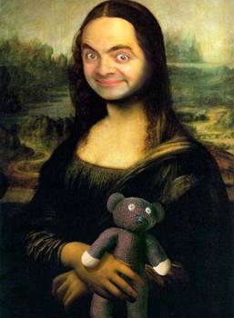 Mr Bean Mona Lisa