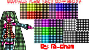 Buffalo Plaid Pack DOWNLOAD by RiSama