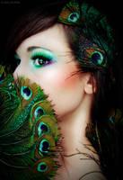 Peacock doll