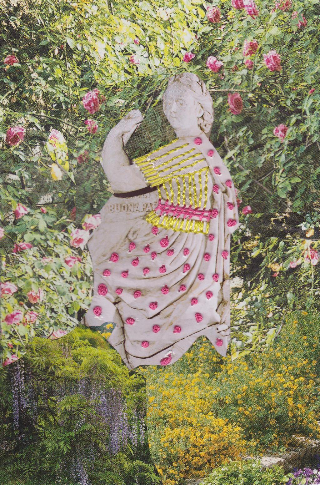Collage 2013 019 Corsican Garden by ArianeJurquet