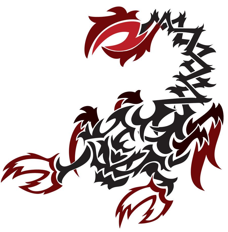 Tribal Scorpion by