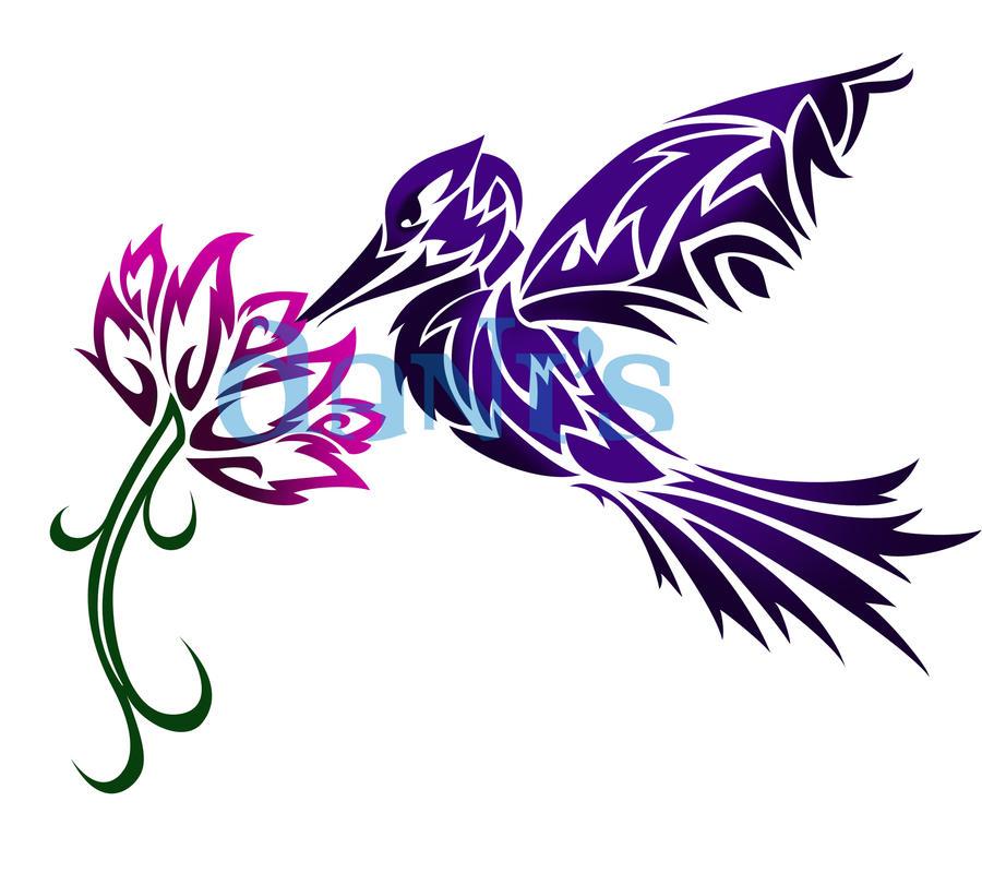 Tribal Scorpion By White Tigress 12158 On Deviantart: Humming Bird And Flower Tribal By White-tigress-12158 On