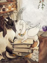 Winter Alchemists by persian-pirate