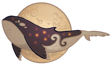 Starry Night Whale