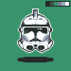 Clonetrooper - Pixel Edition by DaltonKeslar1206