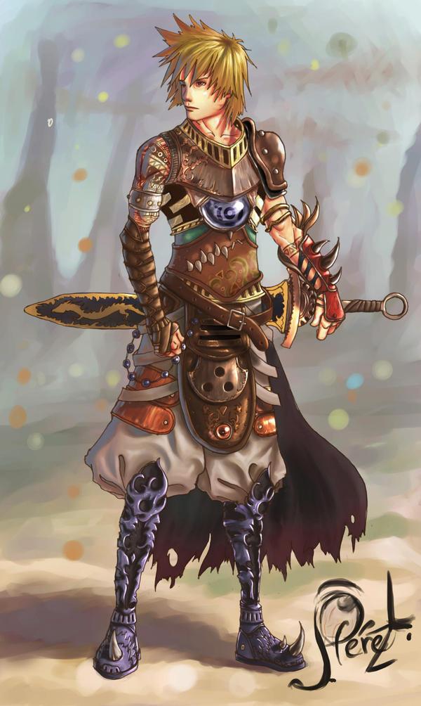 CAPÍTULO 4 (HYADES) <<ADENTRANDOSE A LAS TINIEBLAS>> Jandar_the_swordman_by_juanlink661