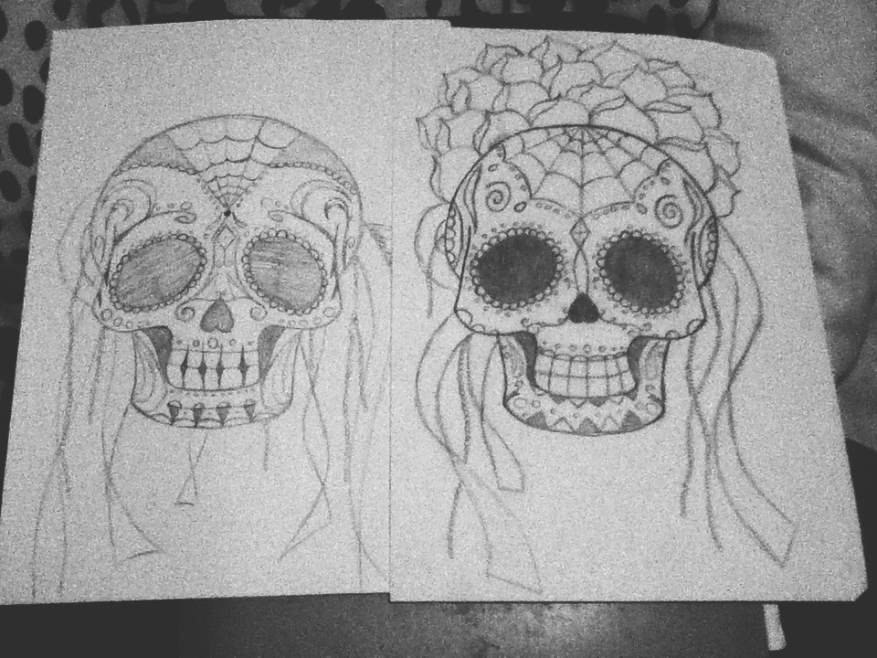 Sugar Skulls by Dislike-Like
