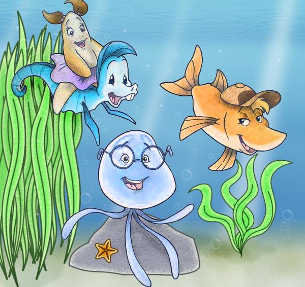 Help i 39 m a fish new by kanda88 on deviantart for Help i ma fish