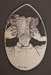 Inktober #15 by Vixie-Mnsv