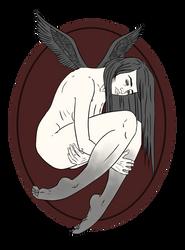 Inktober #16 by Vixie-Mnsv