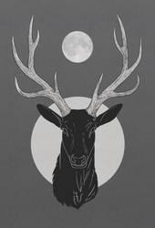 Moon antlers