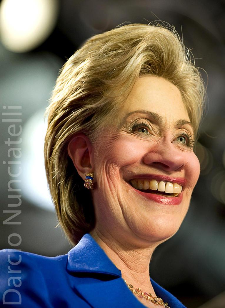 Caricature Hillary Clinton by dnunciate