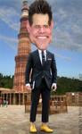 Caricature Jim Carrey by dnunciate