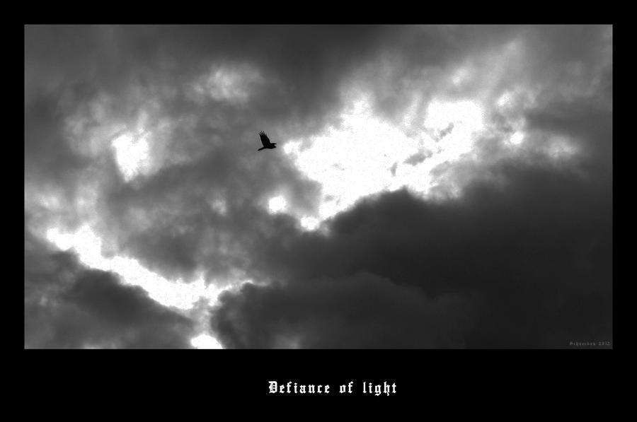 Defiance of light by schaerban