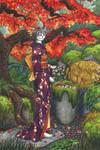 Autumn Kimono Kitty