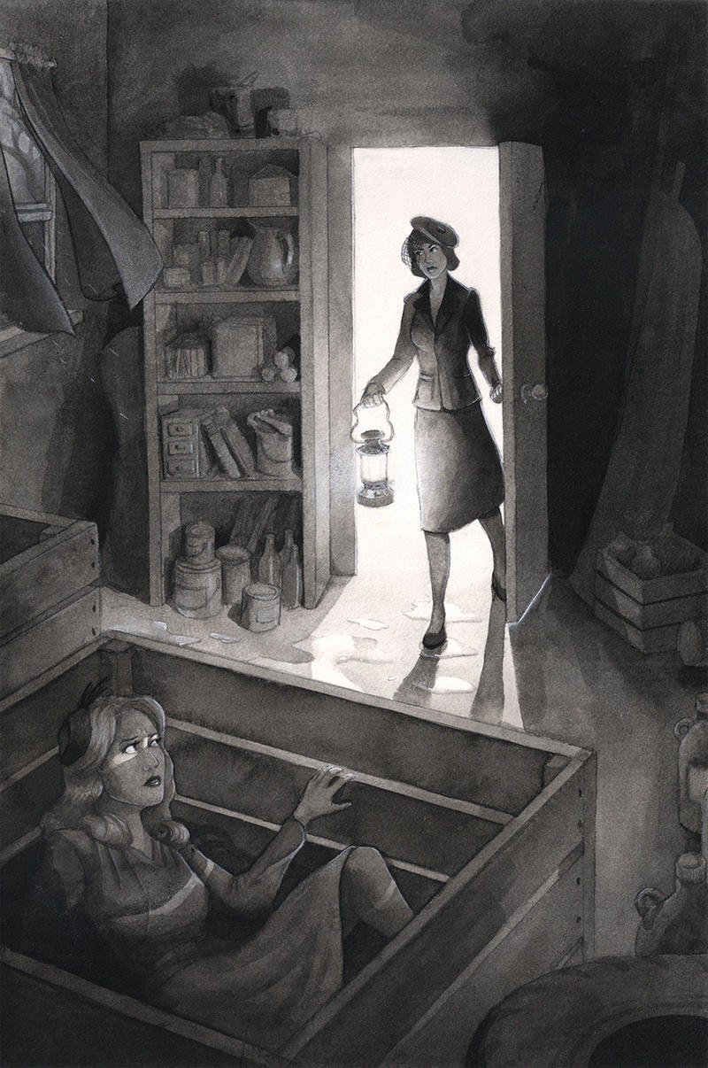 Nancy Drew and the Mystery at Lilac Inn by Tanya56