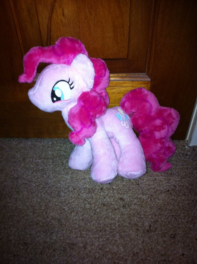Pinkie Pie Plushie Side 2 by Starryflame