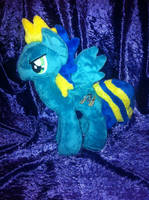 Astro-Brony plushie by Starryflame