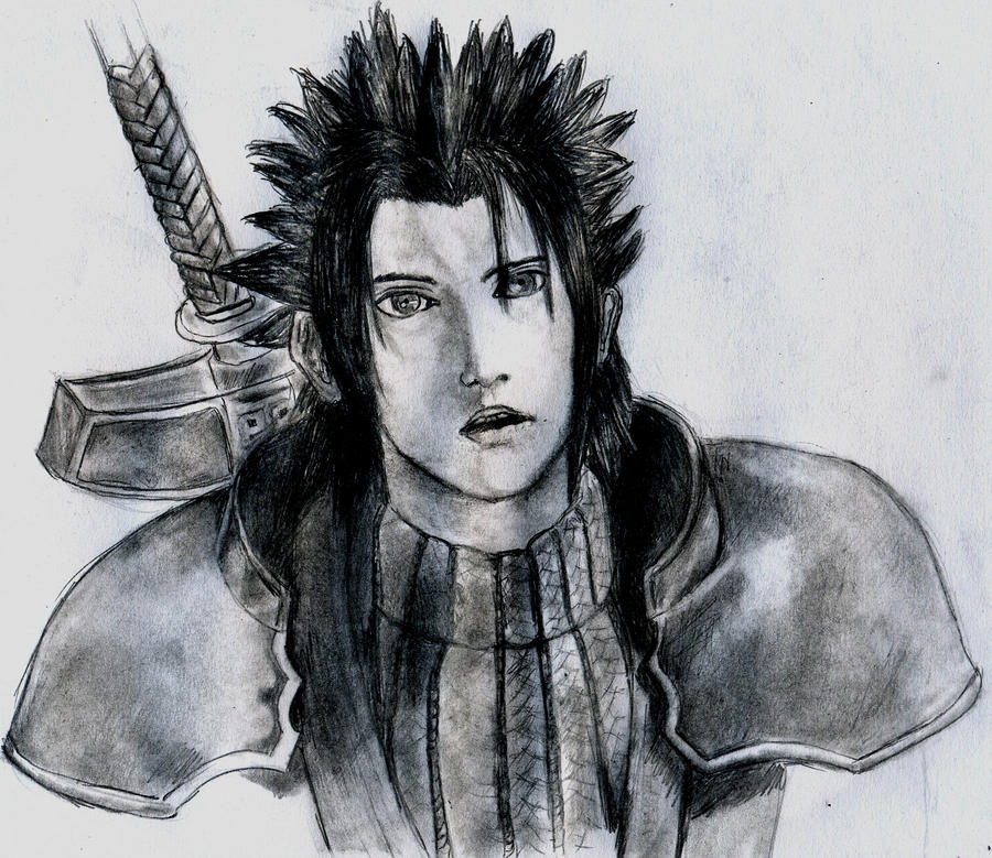 Zack Final Fantasy VII: CRISIS CORE by blueskyhigh