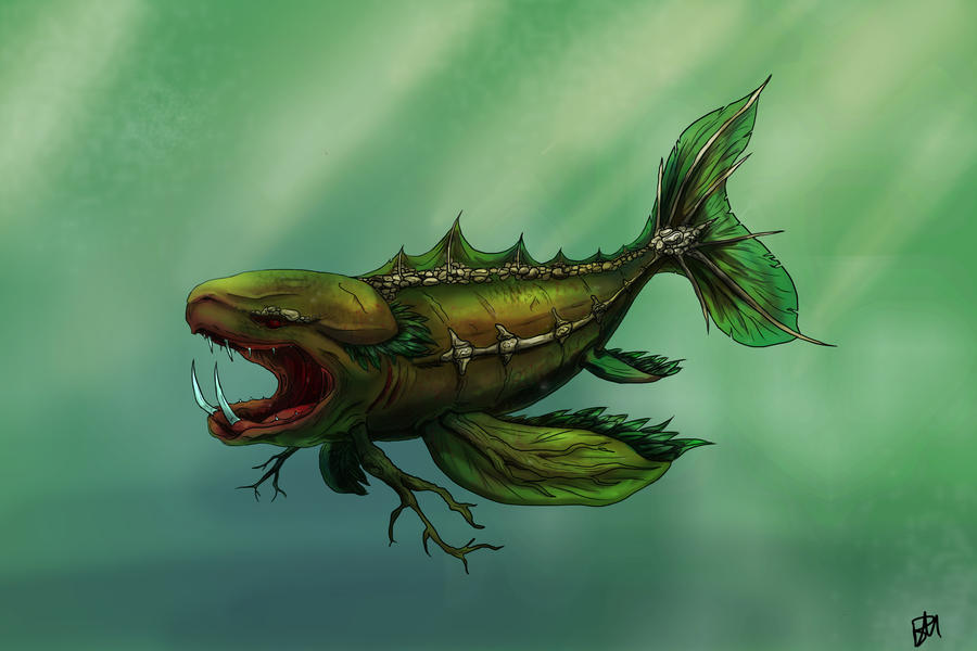 Swamp Fish by savage-oats on DeviantArt
