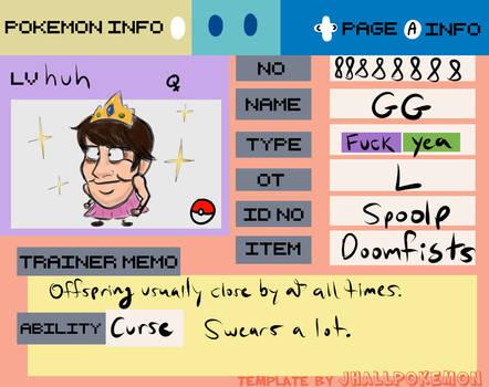 GG Pokemon ID