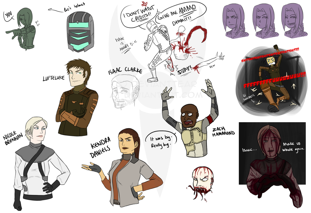 Dead Space Mini Dump by DeviantTear