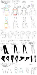 Male Anatomy Reference and Perspective Tips