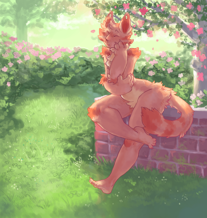 In The Garden by Wolberdan