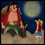 Barbanera vs Rufy