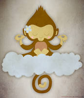 Meditating Monkey Final by Two-Players