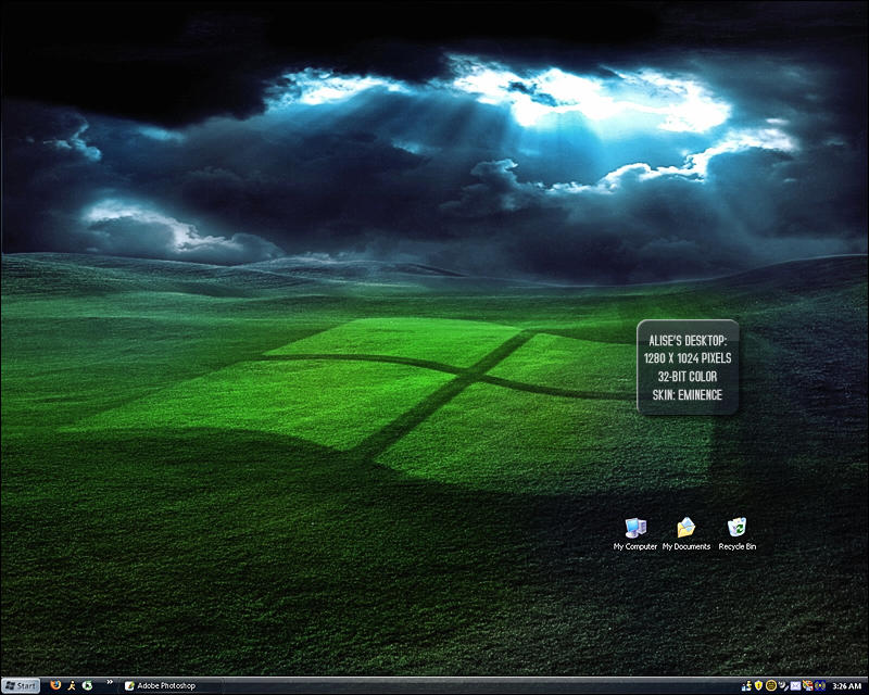 Eminence skin desktop by Two-Players