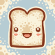Happy Bread Avy for Sean by knitetgantt