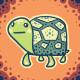 Tortoise Avy for Kris by knitetgantt
