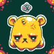 Grumpy Bear Avy for Ryne by knitetgantt