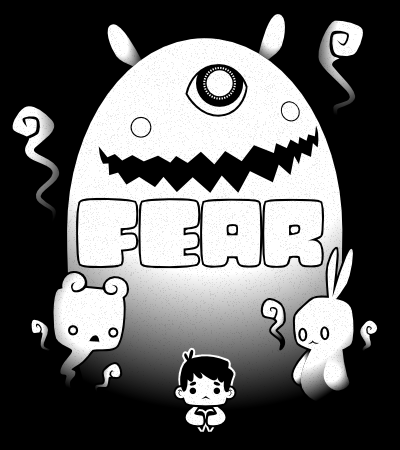 Game Jolt Fear Contest Poster w Text by knitetgantt
