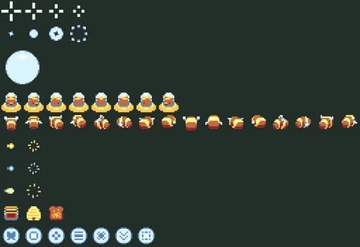 Space Bear Pixels