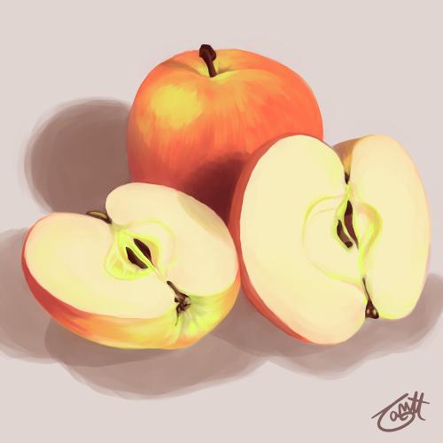 Apples by knitetgantt