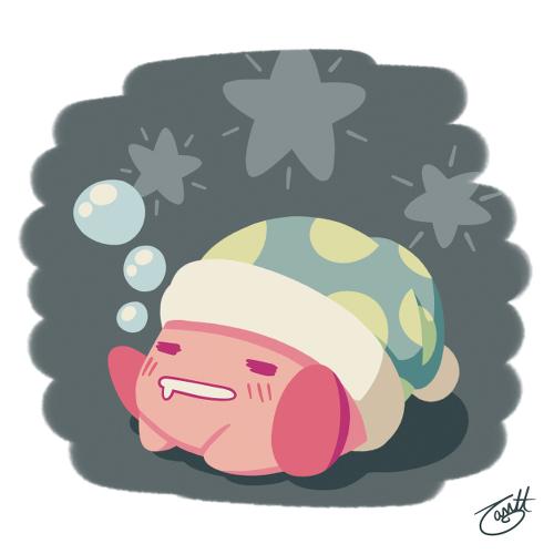 Kirby - Sketch Daily by knitetgantt