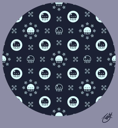 Happy Jellyfish Pattern by knitetgantt