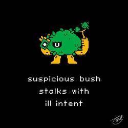 Unlikely Monsters - Suspicious Bush