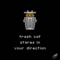 Unlikely Monsters - Trash Cat