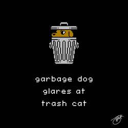 Unlikely Monsters - Garbage Dog