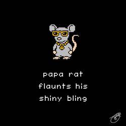 Unlikely Monsters - Papa Rat
